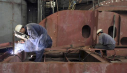 Shipyard workers at risk of asbestos