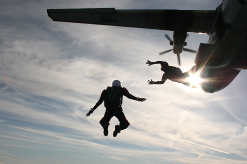 Staff at a Lincolnshire law firm are undertaking final preparations ahead of skydive challenge