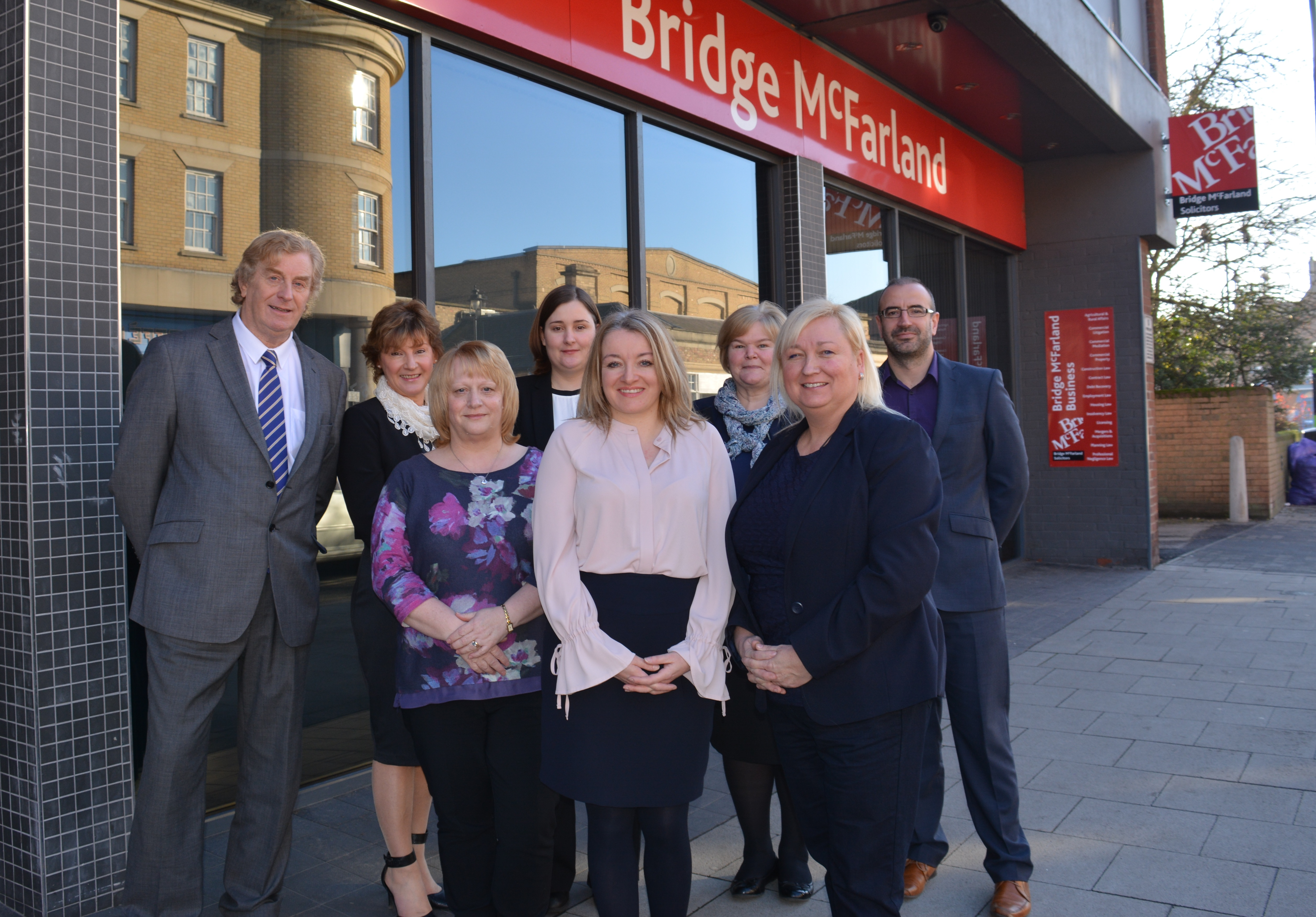 Bridge McFarland announce Downes and Siddall merger