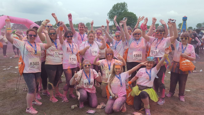 Local law firm raise nearly £1K for Lincolnshire Hospice