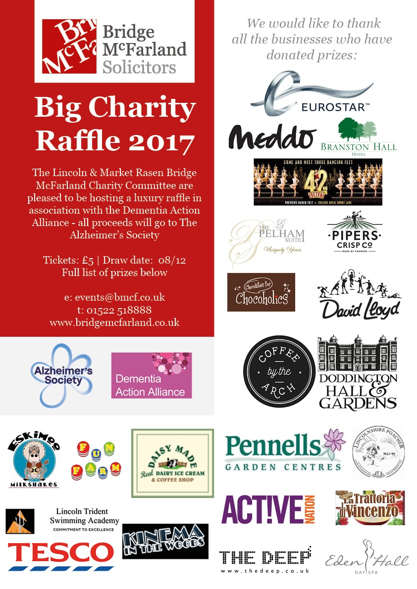 Lincoln and Market Rasen Charity Committee Launch Luxury Raffle