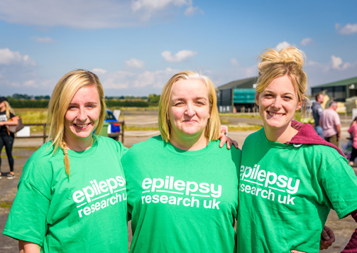 Lawyers fly high to support Epilepsy Research UK