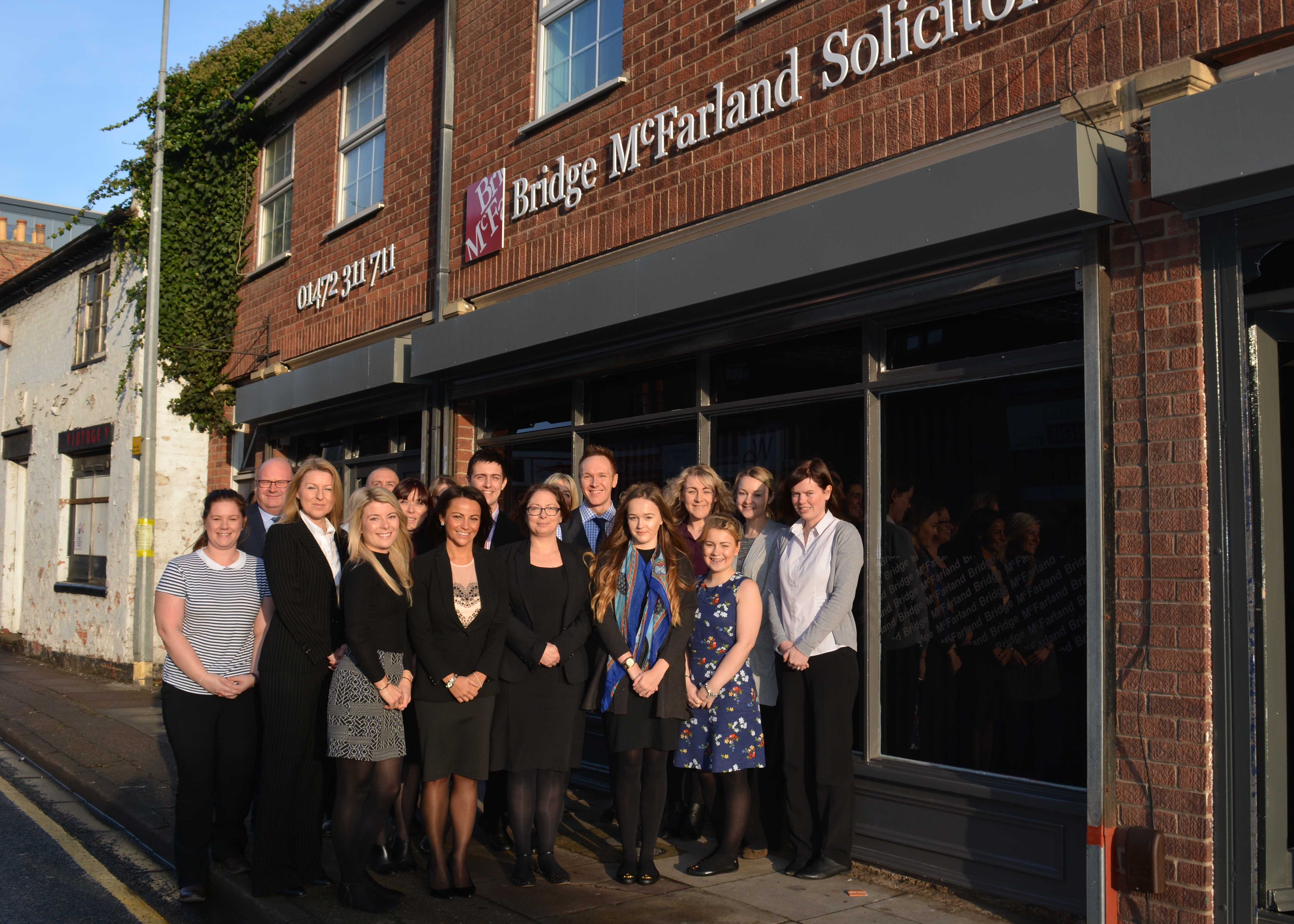Grimsby law firm celebrates 40 years in business