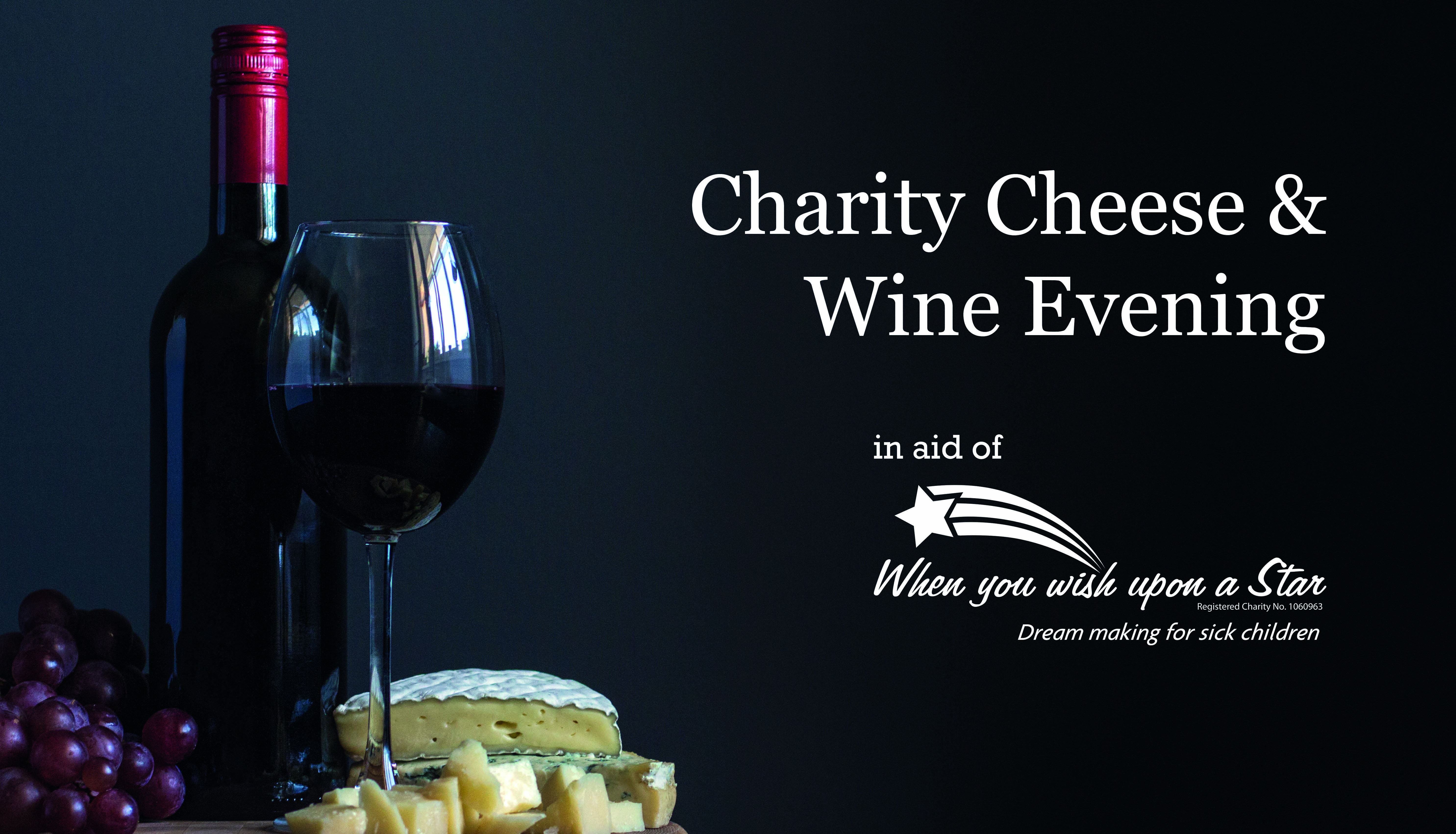 Charity Cheese & Wine Night