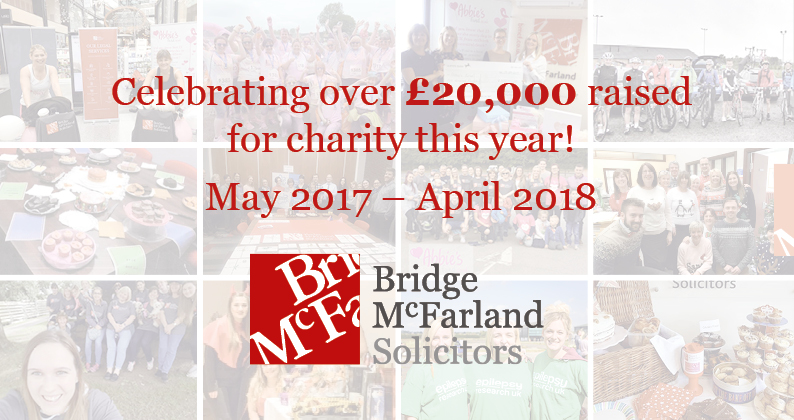 Law Firm Celebrates Record Year for Charity