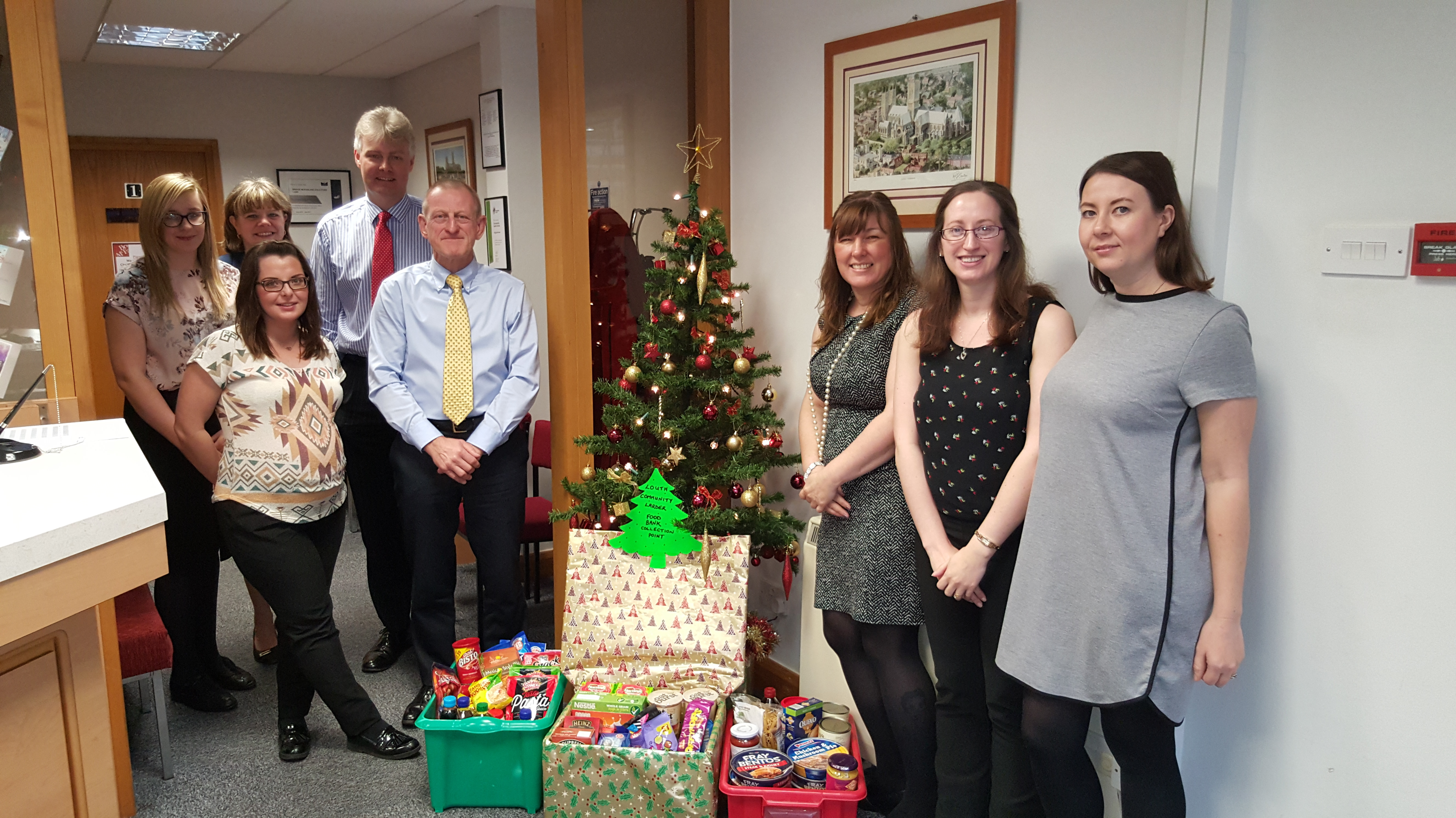 Bridge McFarland festive appeal supports food banks across Lincolnshire and Hull Women's Aid
