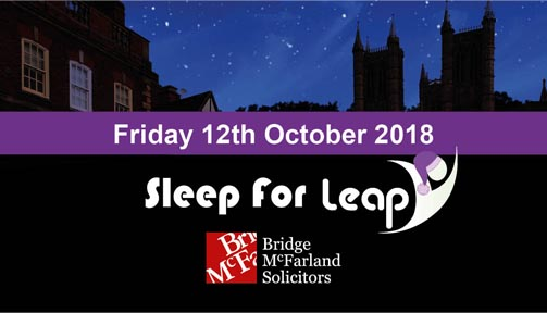 Sleep for Leap - Annual Sleep-Out Event for Local Charity