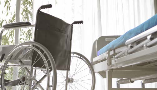 negligent surgery led to wheelchair confinement